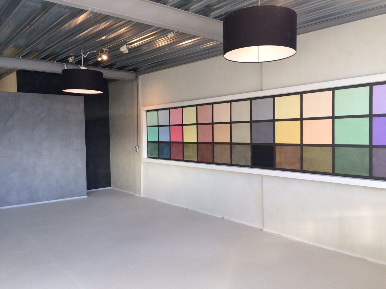 Badkamer Showroom Lisse : Beton ciré showroom den haag wateringen westland