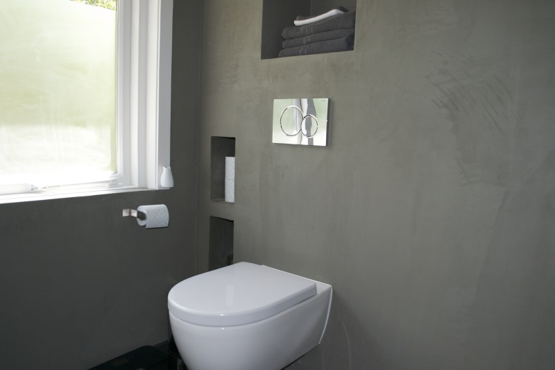 beton cire toilet beton cir centrum. Black Bedroom Furniture Sets. Home Design Ideas
