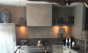 Beton Ciré keuken: Aanrecht