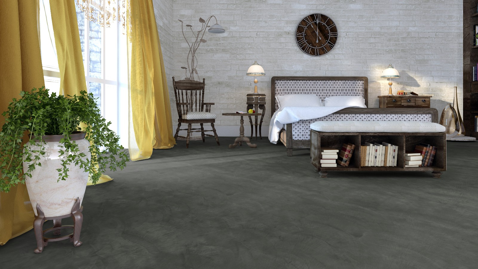 Slaapkamer Betonnen Vloer : Beton ciré vloer beton ciré centrum