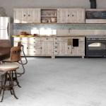 Vloer van Beton Ciré in de keuken