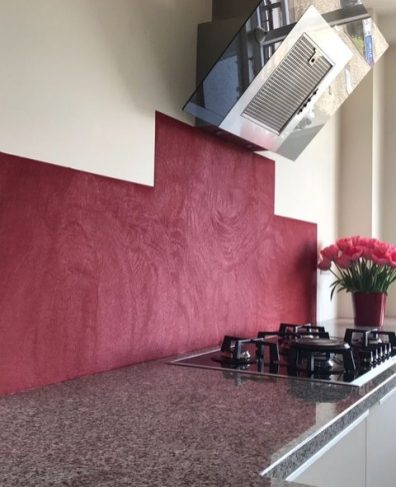 Beton Cire Achterwand/keuken - Voorburg