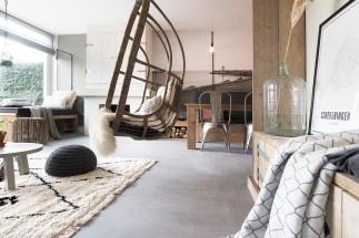 Beton Cire Vloer - gevlinderd W0205