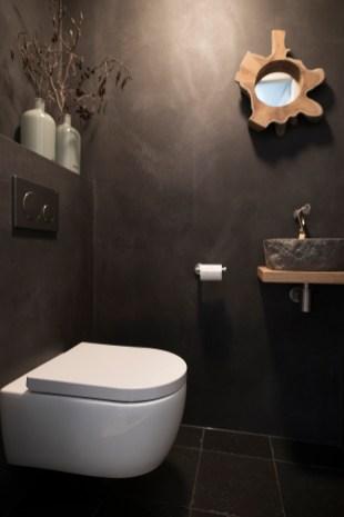 Beton Cire toilet - gevlinderd - W0265 0401