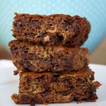flourless chocolate chip zucchini snack cake