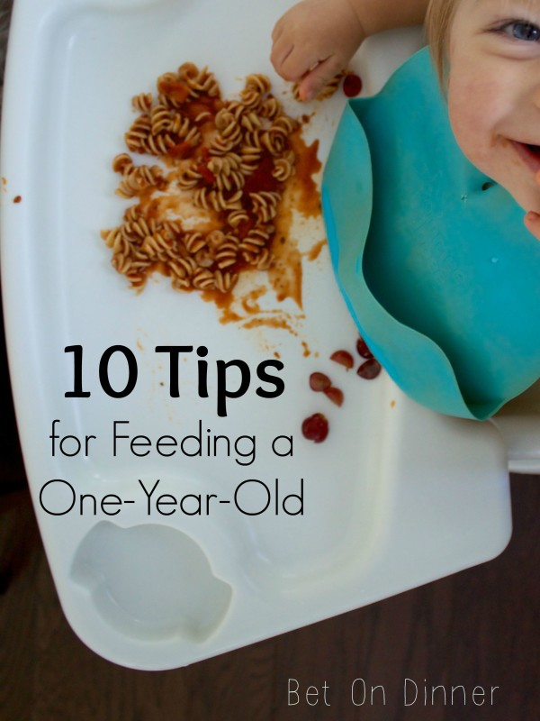10 Tips for Feeding a One-Year-Old