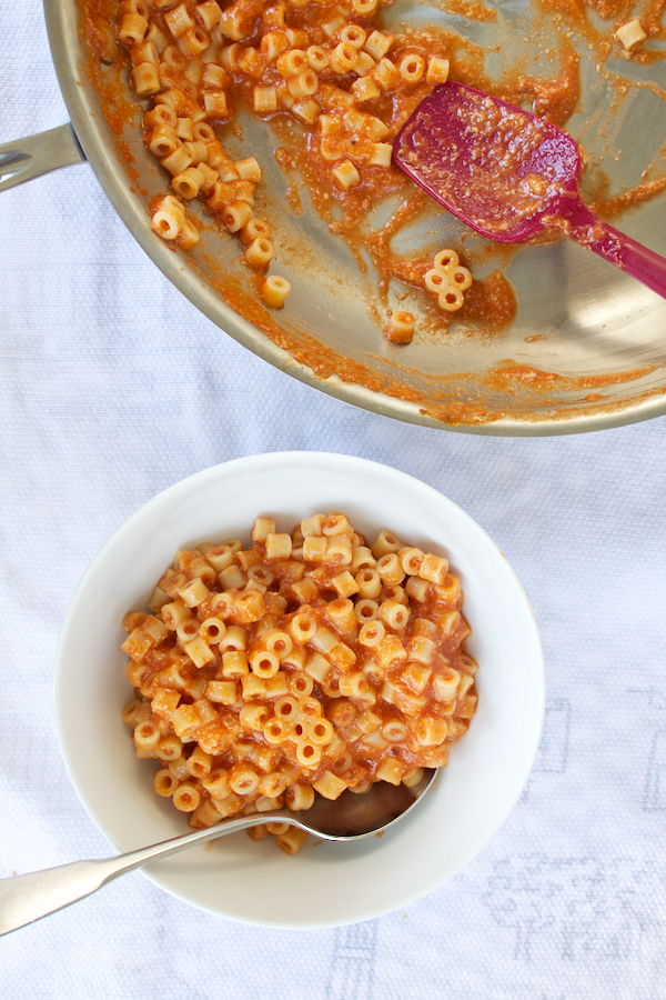 Homemade Spaghettios.