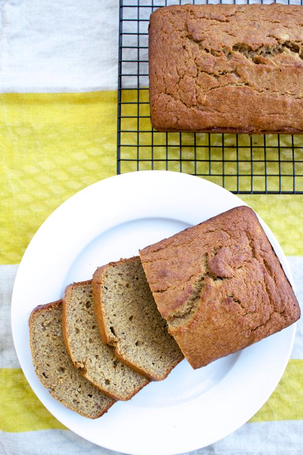 Whole Wheat Banana Bread.