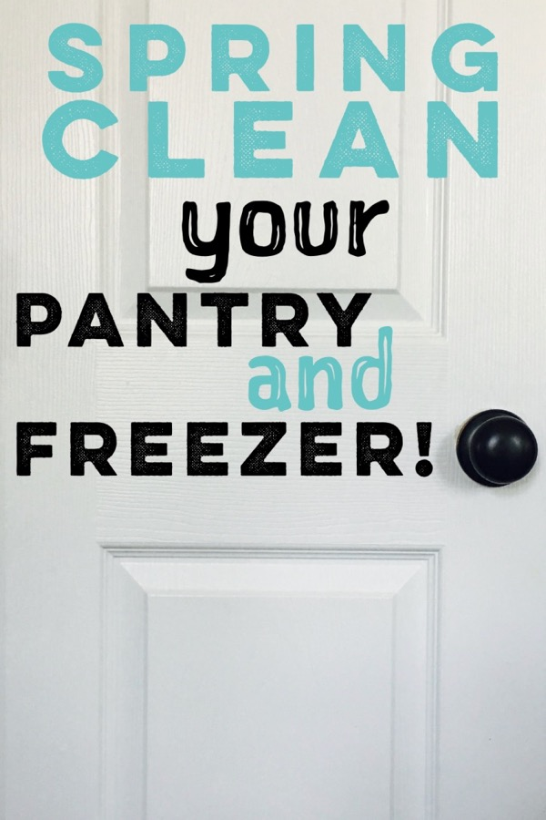 Spring Clean Your Pantry & Freezer!