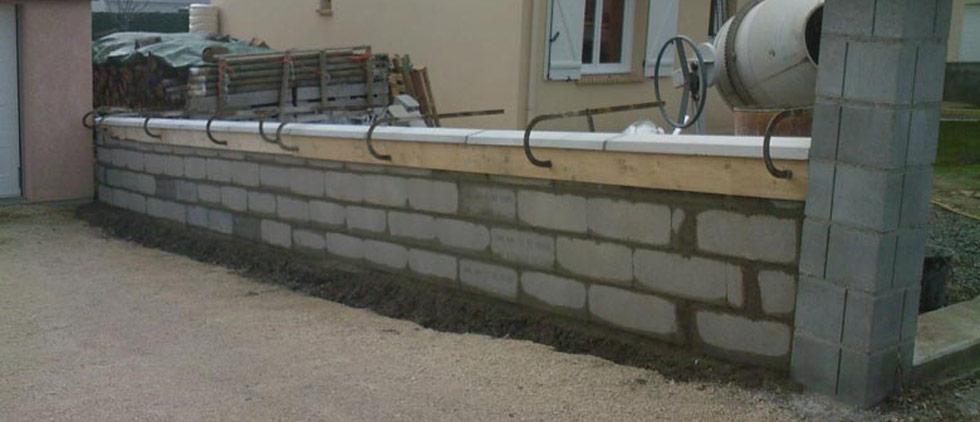 Comment Faire La Fondation D Un Mur De Cloture Beton Expert