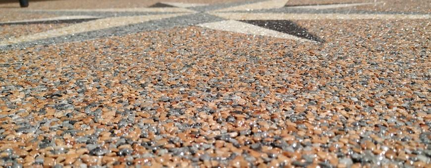 tapis de pierre ou moquette de pierre