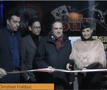 Clemente Mastella con Ernesto Iuliano all'inaugurazione della Sala di Benevento