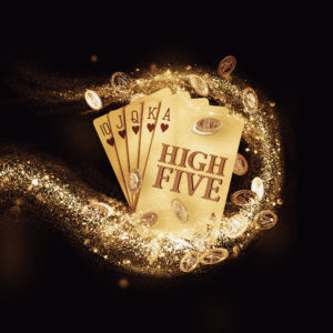 high five logo