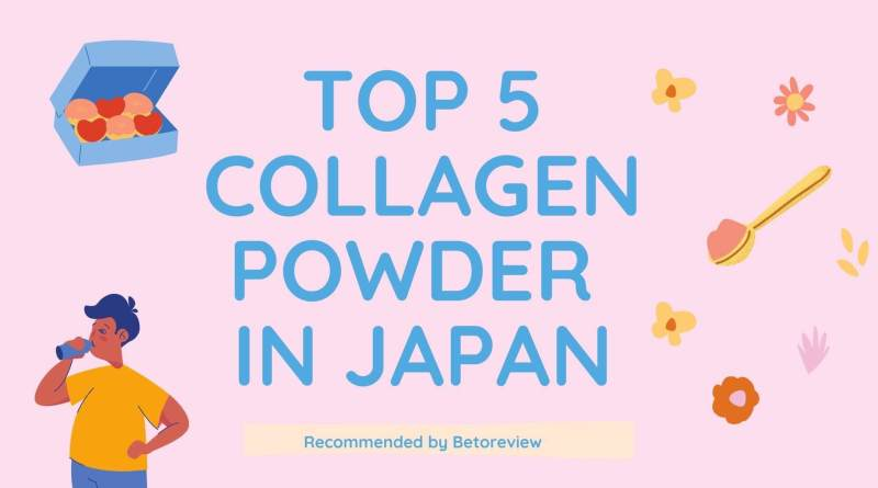 top 5 collagen powder in japan