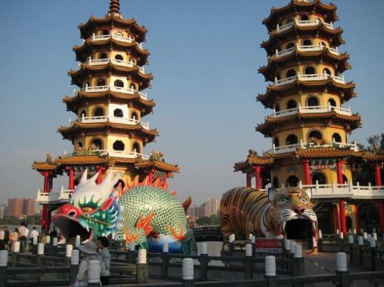 dragon tiger tower taiwan