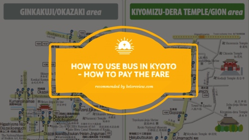 how to use bus in kyoto
