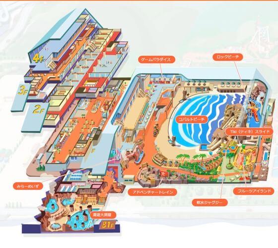 bản đồ bể bơi trong nhà