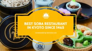 best soba restaurant in kyoto