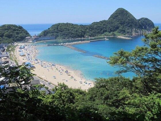 nekozaki hyogo beach