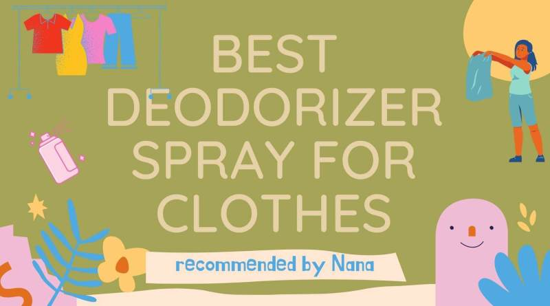 best deodorizer spray for clothes japan