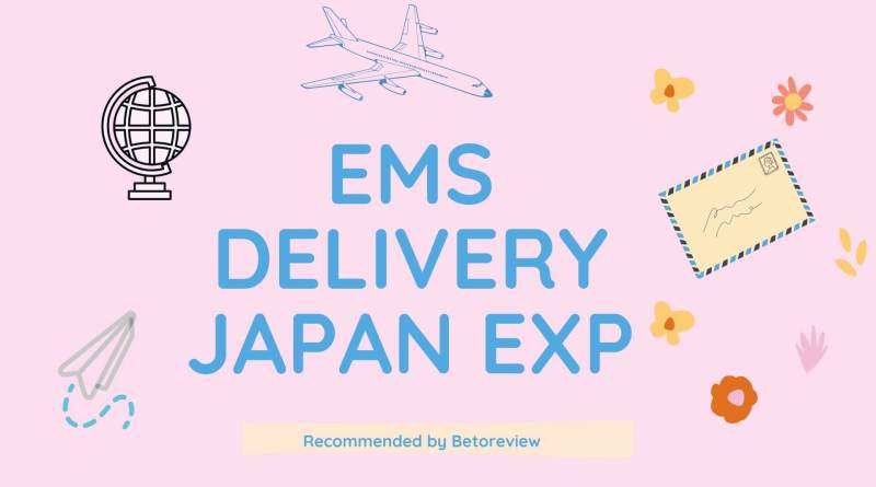 ems post delivery from japan experience