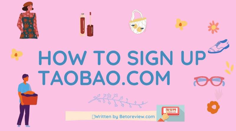how to sign up taobao.com