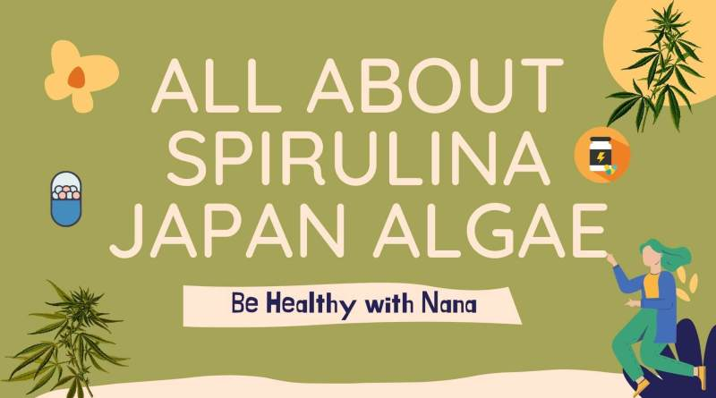 how to use spirulina japan algae