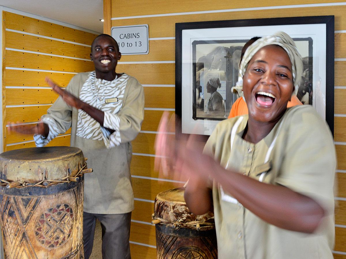 Zambezi-Queen Welcome
