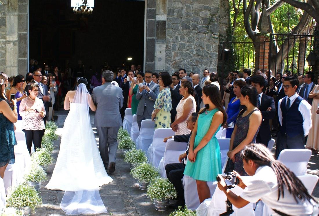 Mexiko, Puebla, Hochzeitspaar