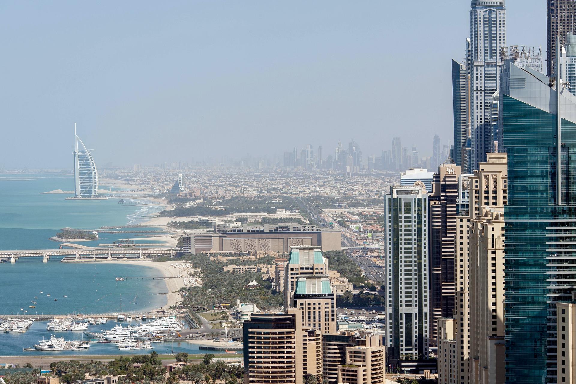 Dubai Stadtansicht
