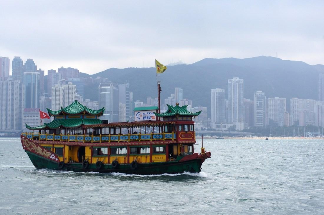 Hong Kong Fluss Boot