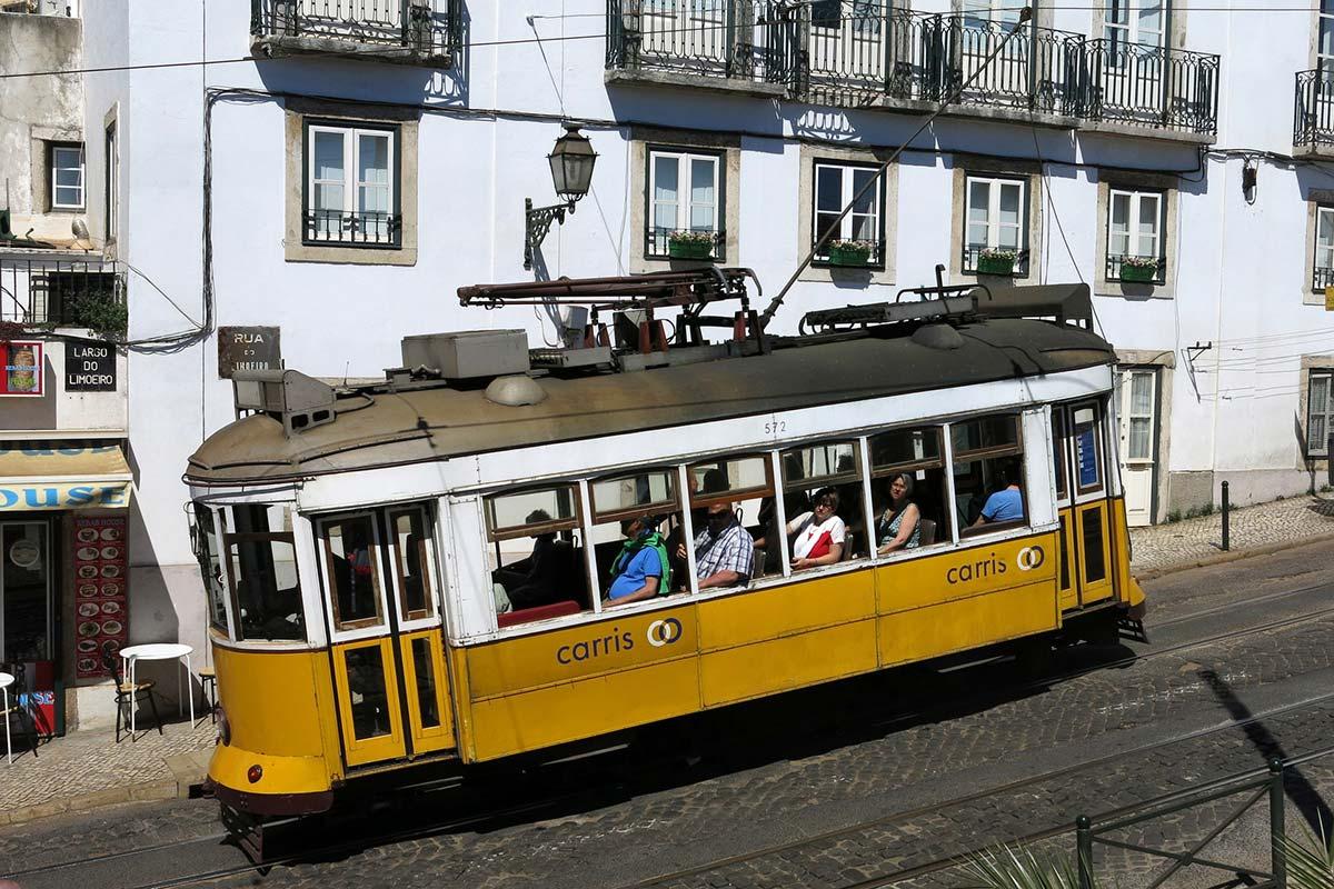 Lissabon-Strassenbahn
