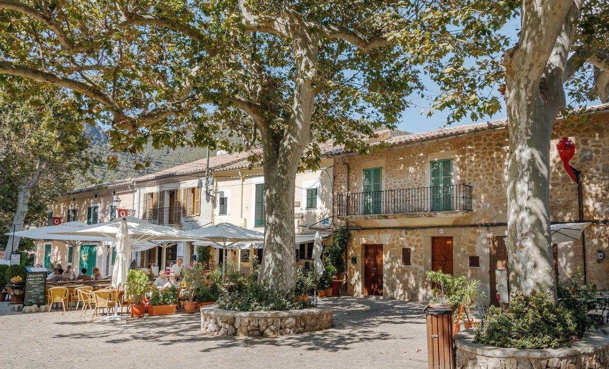 Café in Valldemosse