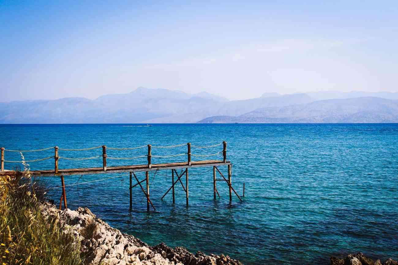 Korfus Buchten