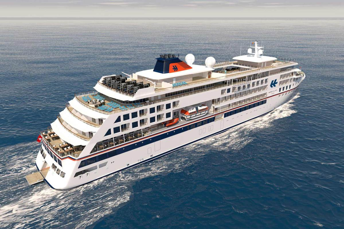 Hapag Lloyd Cruises Neubau HANSEATIC nature