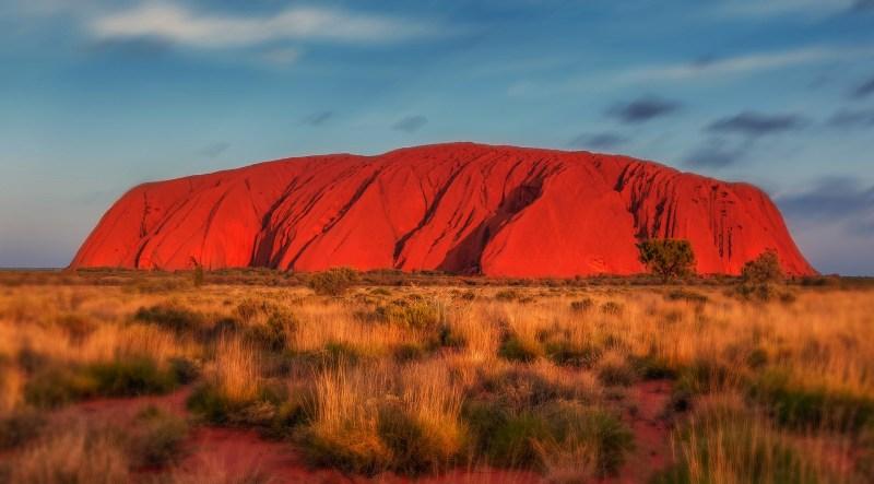 Australien Uluru Rock