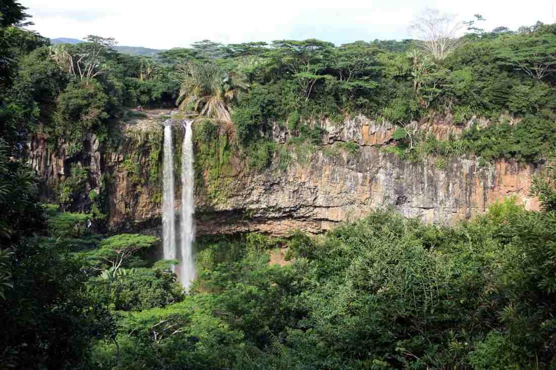 Wasserfall auf Mauritius