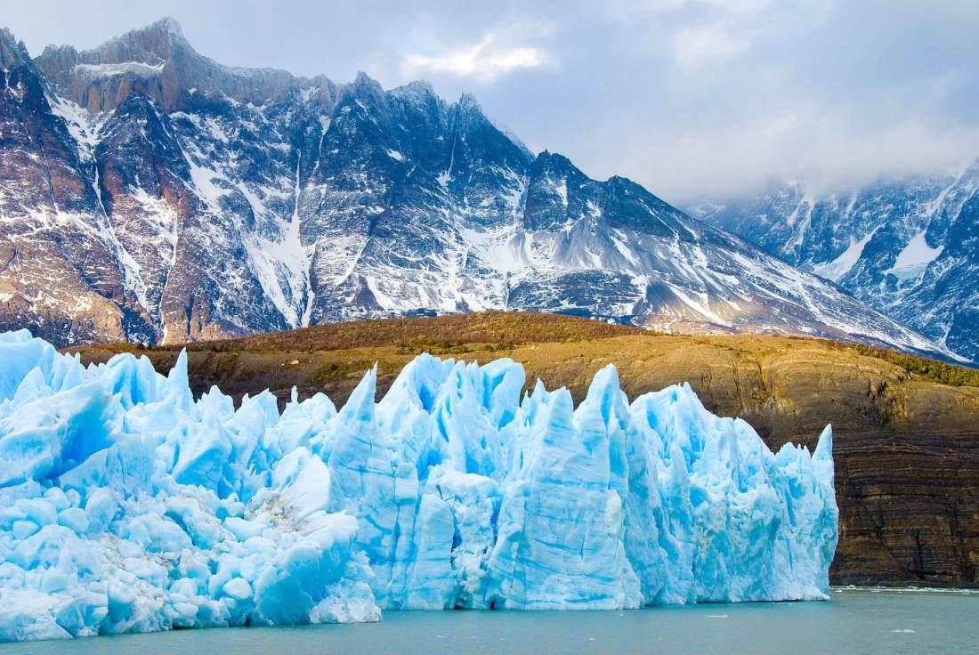 Gletscher in Chile