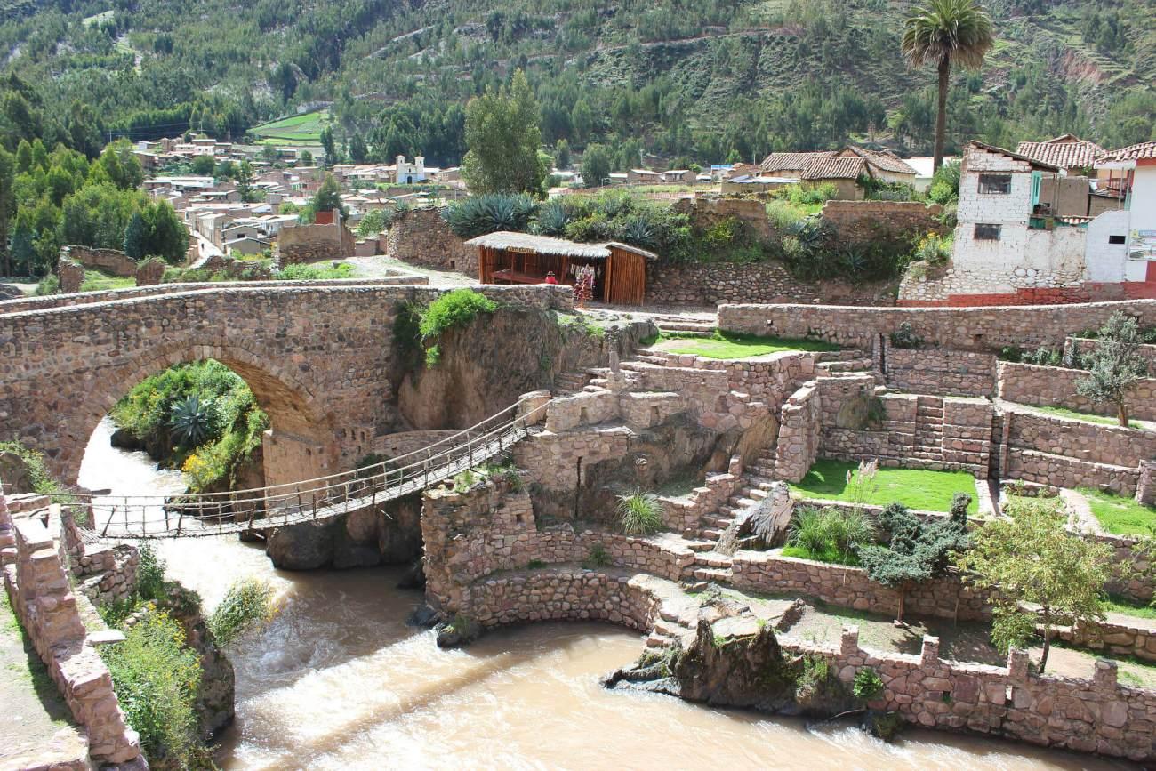 Brücke in Peru