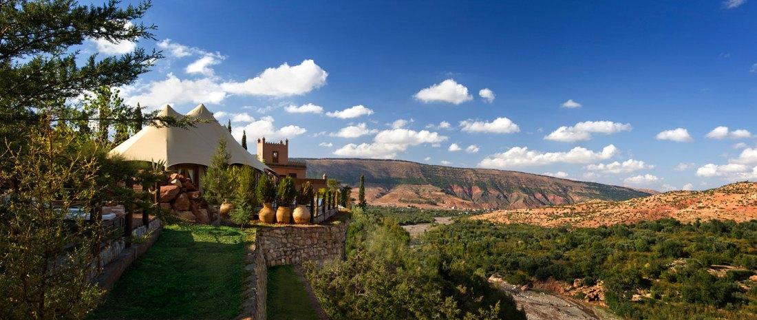 © Virgin Limited Edition: Die Berberzelte eingebettet in die marokkanische Natur