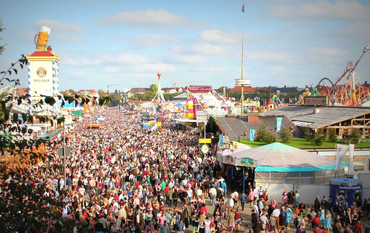 Das Münchner Okoberfest