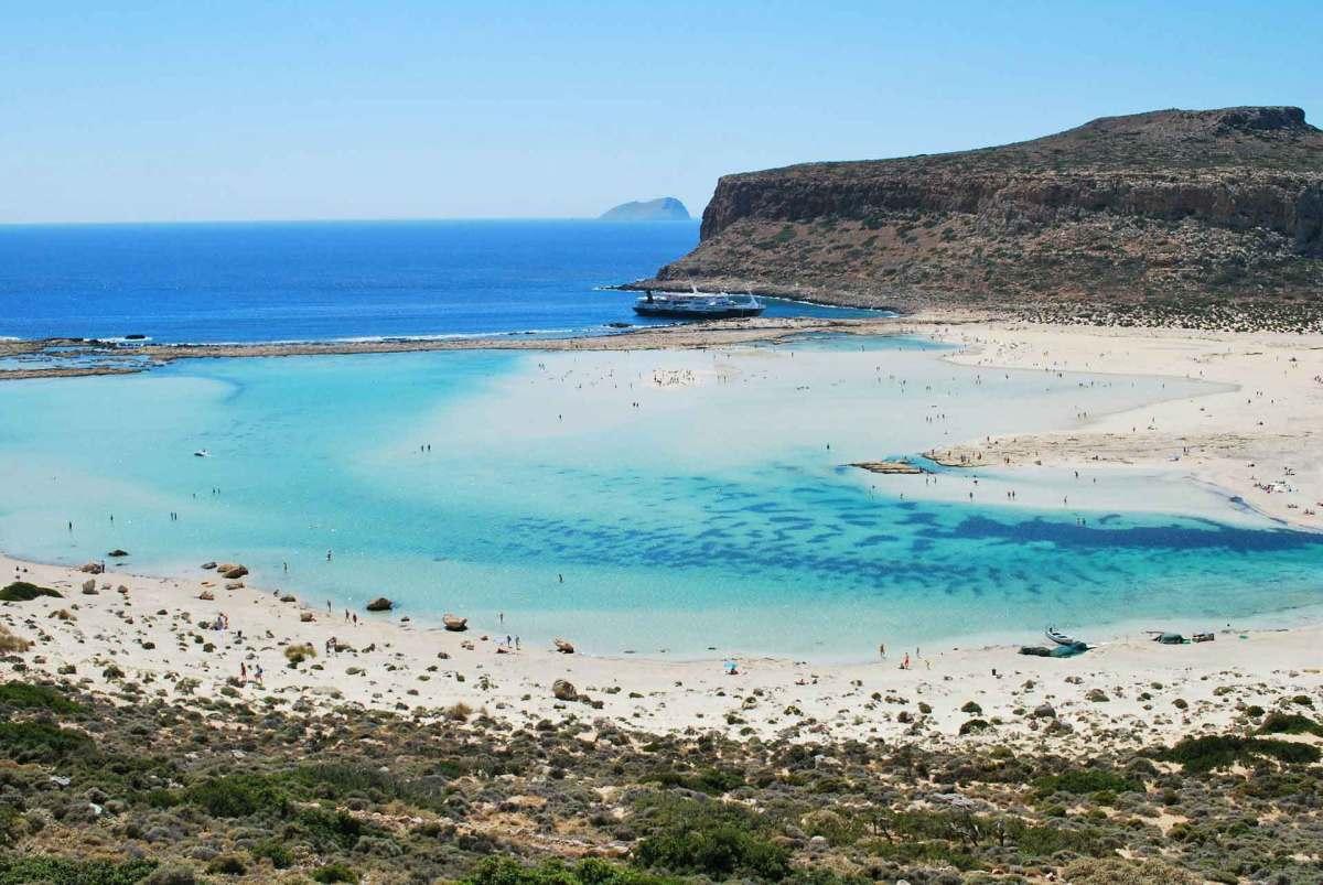 Balos Lagune auf Kreta