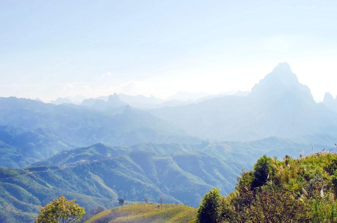 Die Naturschönheiten Laos