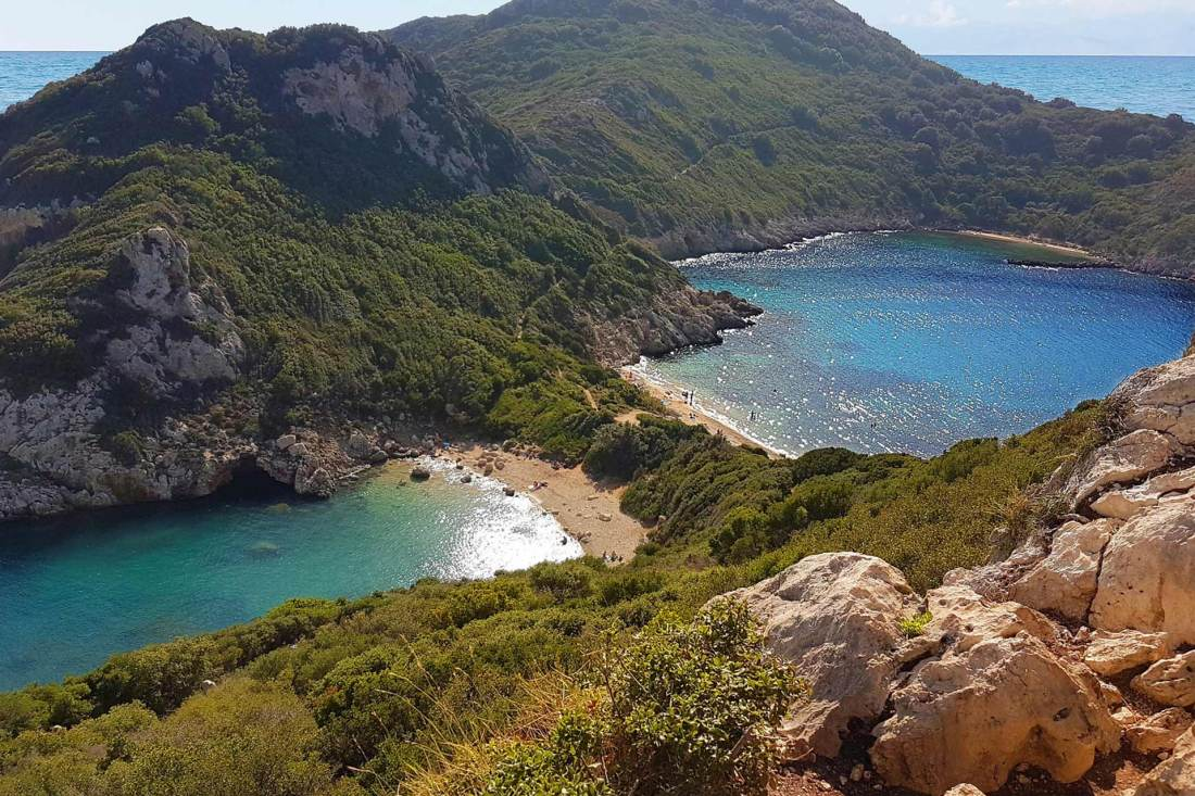 Twin Bay Korfu