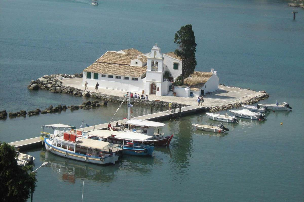 Vlaherna Kloster Korfu
