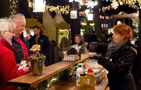 © Maurice Haag: Schlemmen Sie sich durch die vielen Köstlichkeiten auf dem Royal Christmas Fair in Den Haag