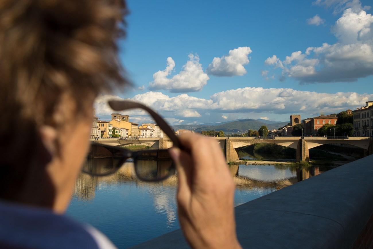 Florenz, Brücke über den Arno