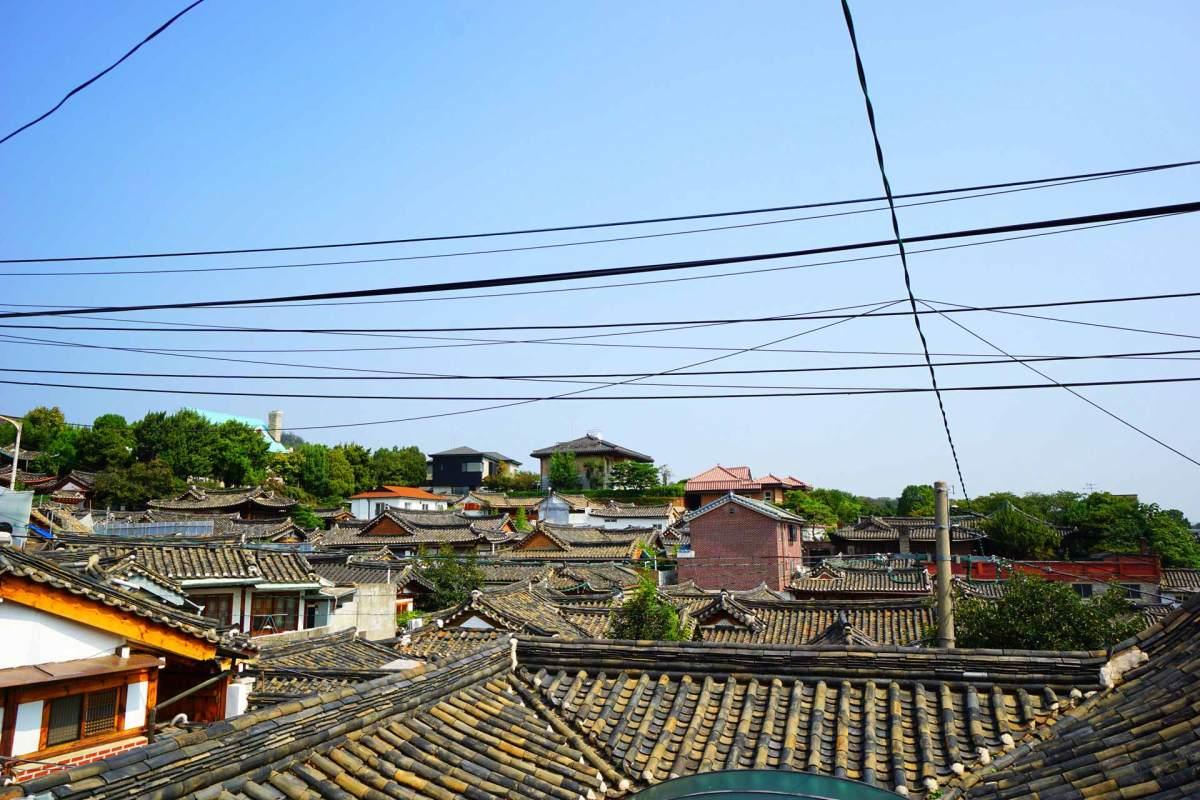 Dächer von Bukcheon