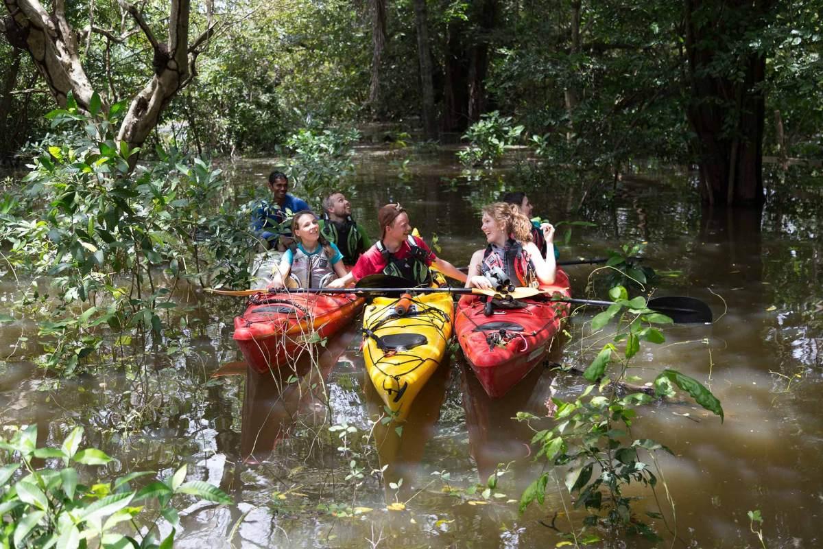 © Genna Roland: Kayaking in Brasilien