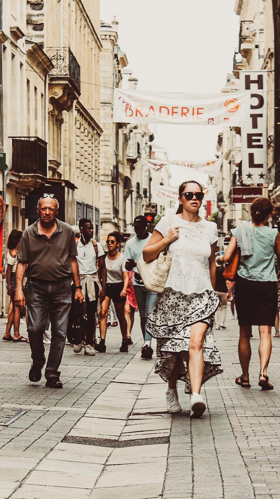 Bordeaux Fußgängerzone